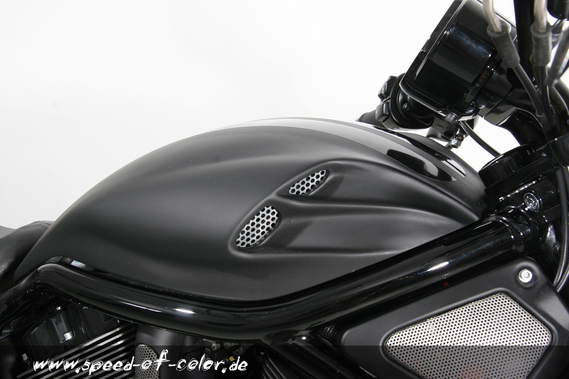 Ducati Monster Tank Cover Carbon