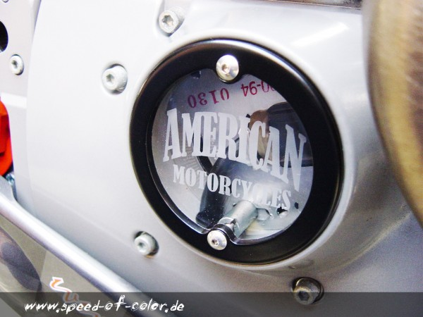SOC Zündungsdeckel Acrylglas für Harley Modelle