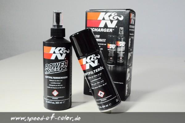 K&N-Reinigungsset-Harley-Davidson