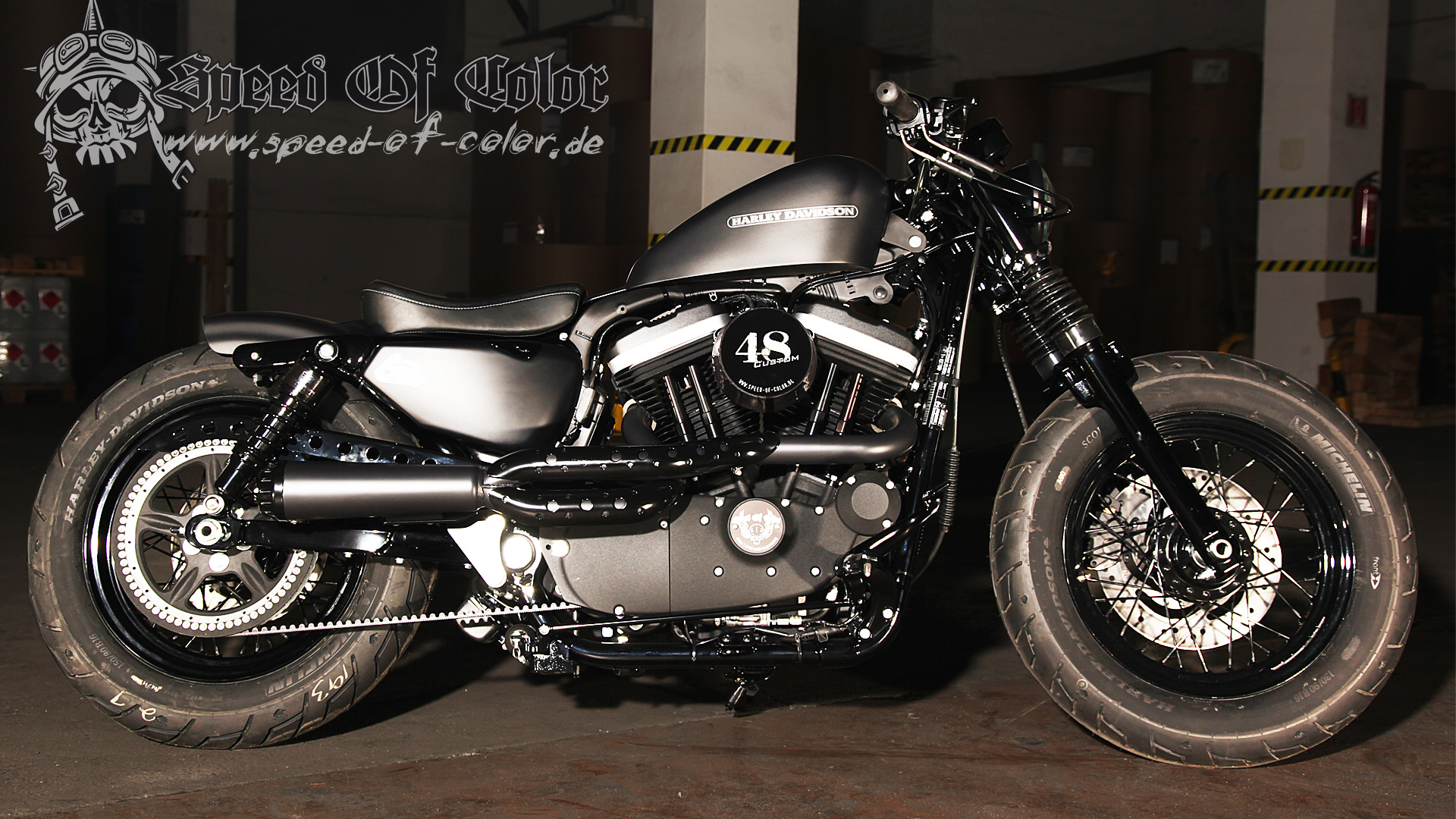 Harley Davidson Forty Eight  Color
