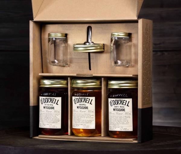 O'Donnell-Moonshine-Geschenkbox
